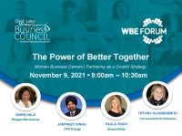 Special Invitation to the WBE Forum | The Power of Better Together